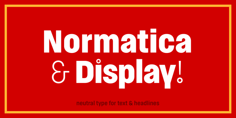 Normatica Super Family [24 Fonts] | The Fonts Master