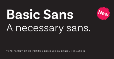 Basic Sans Super Family [28 Fonts]