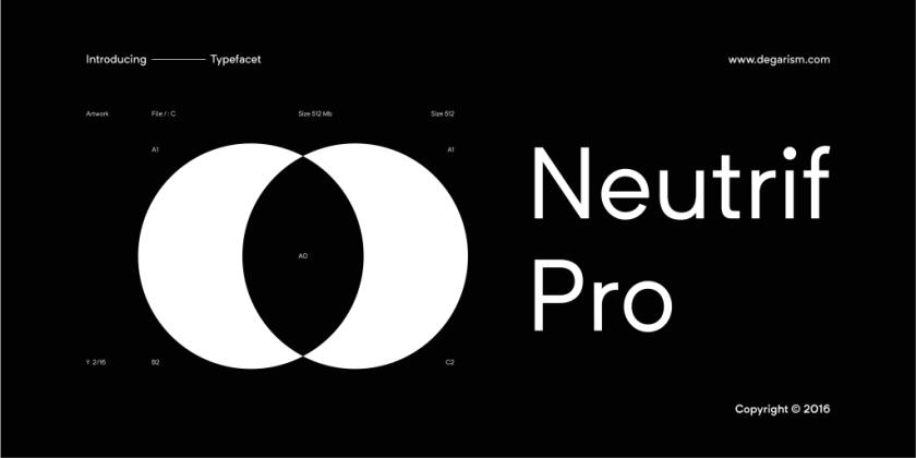 Neutrif Pro [10 Fonts]   The Fonts Master