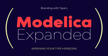 Bw Modelica Expanded Super Family [48 Fonts]