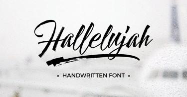 Hallelujah [5 Fonts]