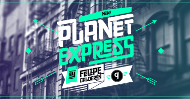 Planet Express [3 Fonts]