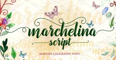 Marchelina Script [1 Font]