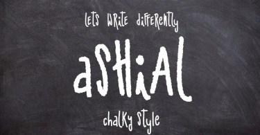 Ashial [2 Fonts + Extra]