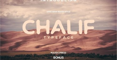 Chalif [2 Fonts]