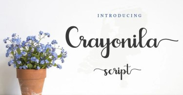 Crayonila Script [1 Font]