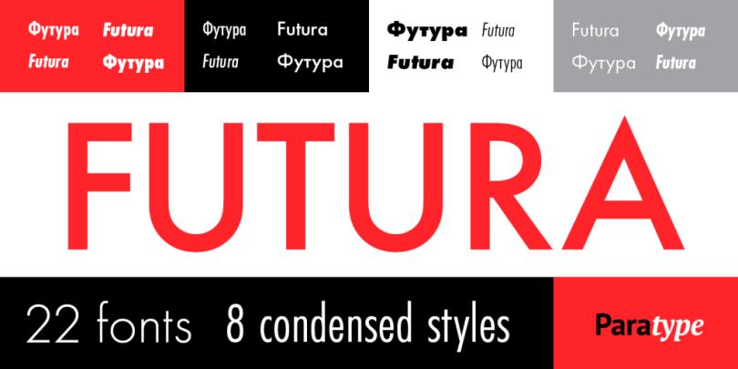 Futura Pt Super Family [22 Fonts] | The Fonts Master