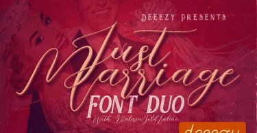 Just Marriage [4 Fonts]