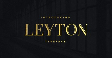 Leyton [2 Fonts]