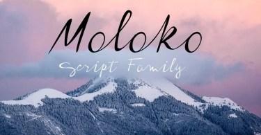 Moloko [3 Fonts]