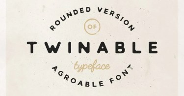 Twinable [1 Font]