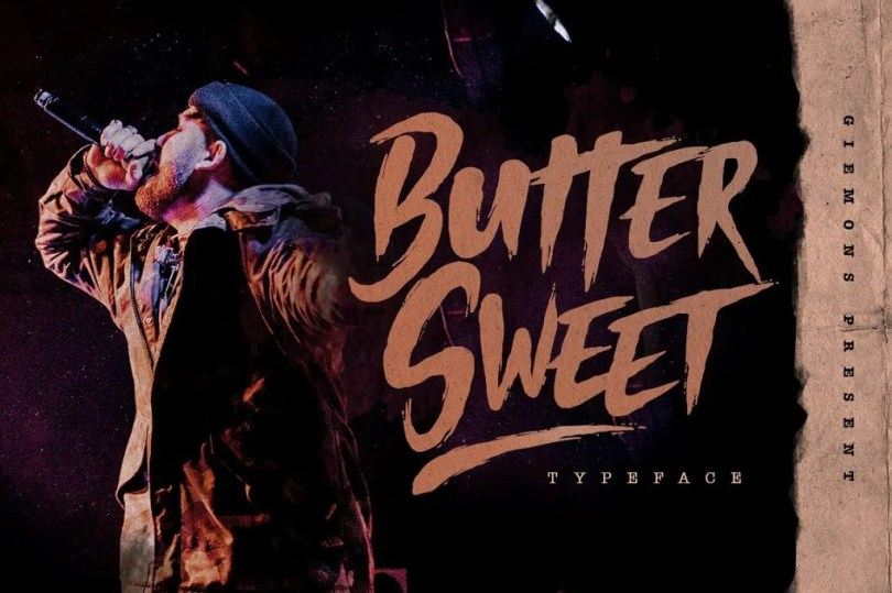 Butter Sweet [1 Font] | The Fonts Master