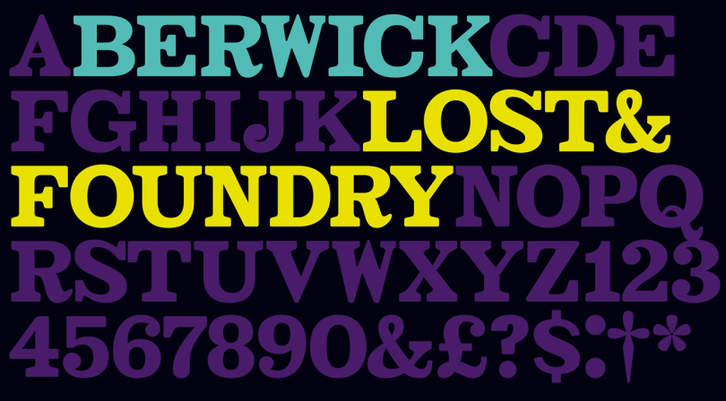 Lost & Foundry [7 Fonts]