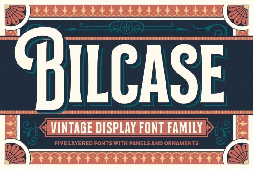 Bilcase [6 Fonts] | The Fonts Master