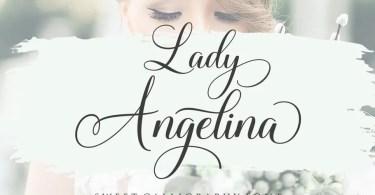 Lady Angelina Script [1 Font]
