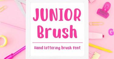 Junior Brush [1 Font]
