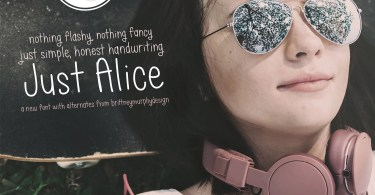 Just Alice [1 Font]