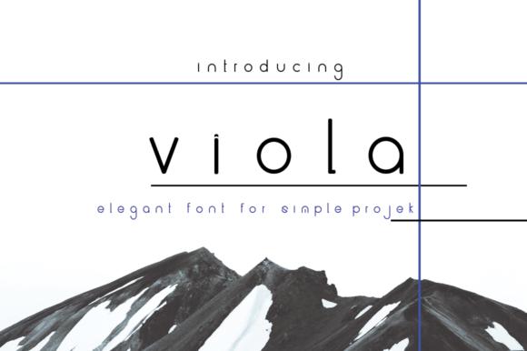 Viola [1 Font]