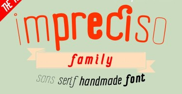 Impreciso [8 Fonts]