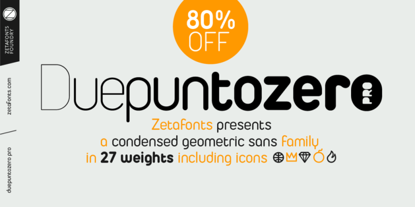 Duepuntozero Pro Super Family [27 Fonts]   The Fonts Master