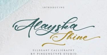 Alayska [1 Font]