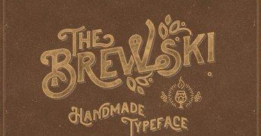 Brewski Textured [1 Font]