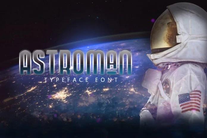 Astroman [2 Fonts]