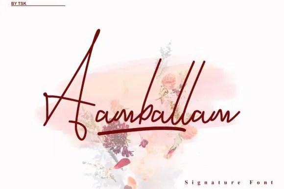 Aambalam [2 Fonts] | The Fonts Master