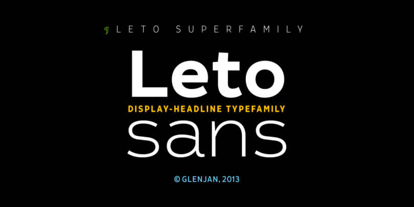 Leto Sans Super Family [6 Fonts] | The Fonts Master