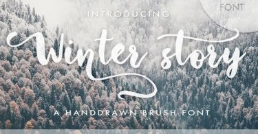 Winter Story [2 Fonts]