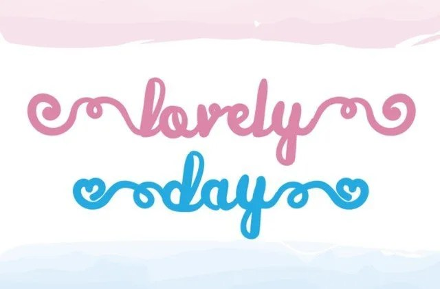 Lovely Day [1 Font] | The Fonts Master