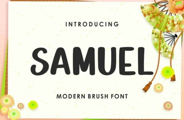 Samuel [1 Font] | The Fonts Master