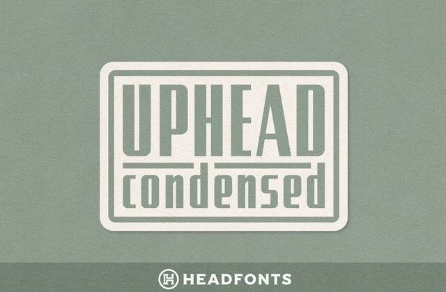 Uphead Condensed [1 Font]   The Fonts Master