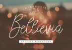 Bellievia [1 Font]