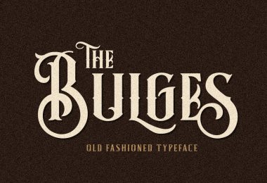 Bulges [3 Fonts]