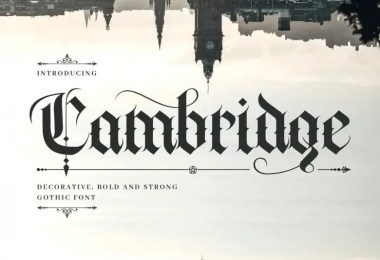 Cambridge [1 Font]