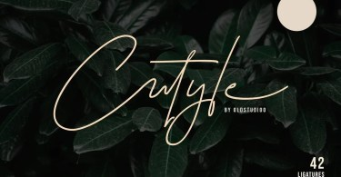 Cutyle [1 Font]