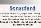 Stratford URW [4 Fonts]