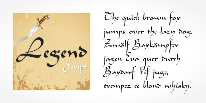Legend Script [1 Font]