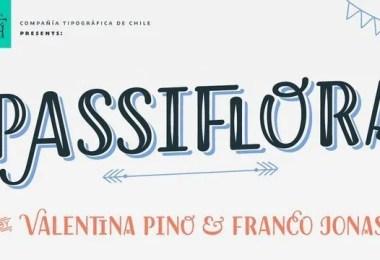 Passiflora [7 Fonts]