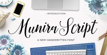 Munira Script [1 Font]