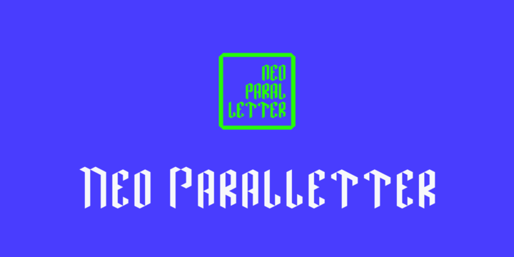 Neo Paralletter [1 Font]