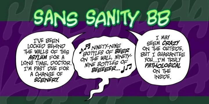 Sans Sanity BB [3 Fonts]