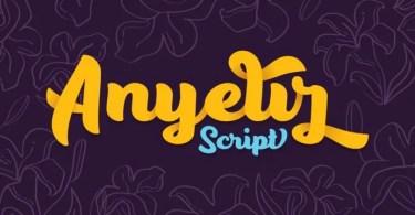 Anyelir Script [10 Fonts]