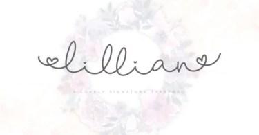 Lillian Script [2 Fonts]