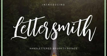 Lettersmith [2 Fonts]