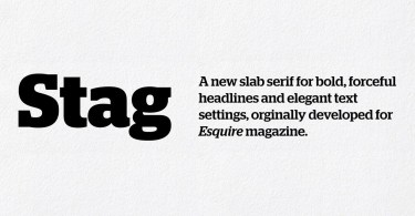 Stag Super Family [14 Fonts]