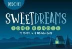 Sweet Dreams Font Bundle [30 Fonts]