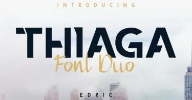 Thiaga [3 Fonts]