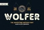 Wolfer [4 Fonts]